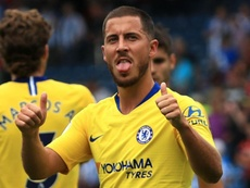 Hazard refused to commit his long-term future to the club. GOAL
