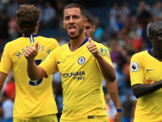 Hazard came off the bench in Chelsea's win at Huddersfield. GOAL