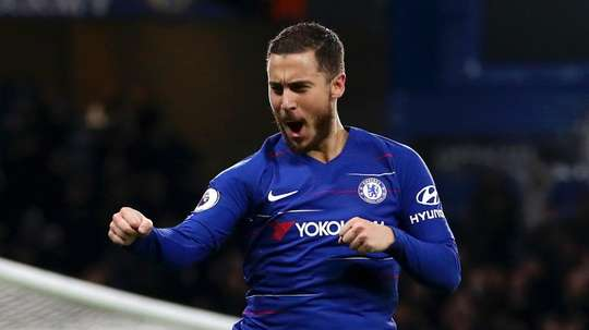 Hazard has been called Chelsea's best ever foreign player. GOAL