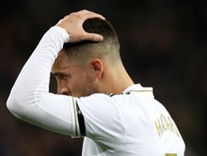 Eden Hazard may not return for Real Madrid before the end of the season. GOAL