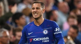 Hazard insists he is content to remain at Chelsea until at least the end of the season. GOAL