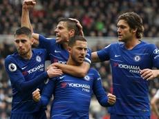 Terza vittoria per il Chelsea. Goal