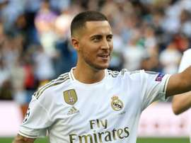 Eden Hazard Real Madrid. Goal