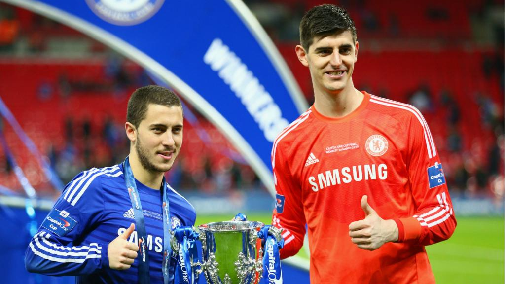Thibaut Courtois commente l'absence de Cristiano Ronaldo — Real Madrid