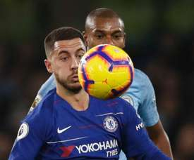 Hazard feels Manchester City are still the best team in the Premier League. GOAL
