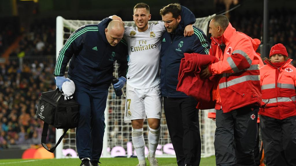 Zidane hopeful injured Hazard does not need surgery - BeSoccer
