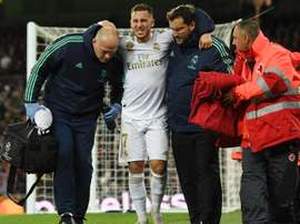 Zidane hopeful injured Hazard does not need surgery. GOAL