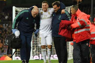 Zidane hopeful injured Hazard does not need surgery. GOAL