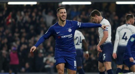 Hazard's Chelsea will face Manchester City in the EFL cup final on February 24. GOAL