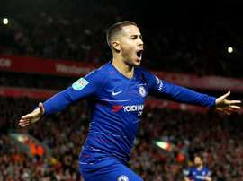 Sarri is confident that Hazard can become the world's best at Chelsea. GOAL