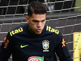 Ederson Brazil. Goal