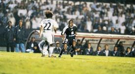 O dia em que Edílson se apresentou ao Real Madrid. EFE