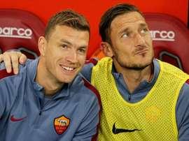 Dzeko peut entrer dans l'histoire de Rome. Goal