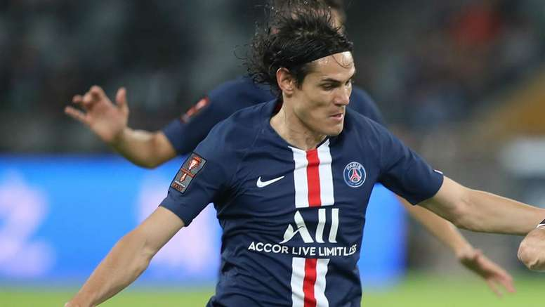 PSG coach Tuchel believes Cavani will not be going anywhere in January. GOAL