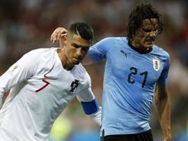 Bentancur played down fears that Cavani's injury may be worse than first feared. GOAL