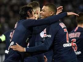Le groupe du PSG. Goal
