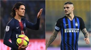 Calciomercato Inter, scambio Icardi-Cavani con il PSG? Sul Matador anche l'Atletico.