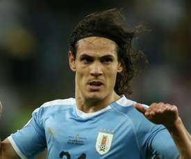 Cavani scored once again for Uruguay against Chile on Monday. GOAL