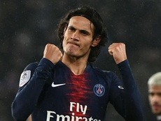 Cavani is considering his options as his PSG contract begins to run down. GOAL