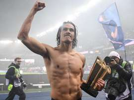Cavani emotional after reaching PSG milestone: It's a very special moment. AFP