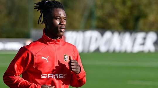 Camavinga veut continuer avec Rennes. afp