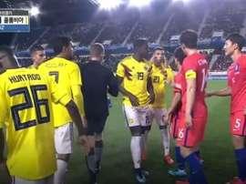 La FIFA vient de suspendre pour cinq rencontres Edwin Cardona. Goal