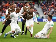 Uruguai entrou a vencer. Goal
