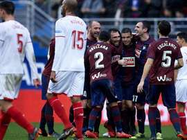 Eibar ran riot against Sevilla. GOAL
