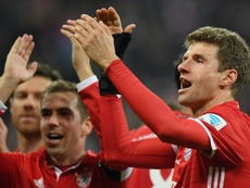 Bayern are happy to be back at the top. Goal