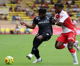Monaco tenu en échec par Reims. AFP