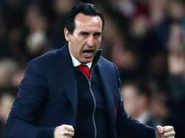 Emery was really pleased with the Emirates crowd. GOAL