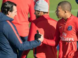Unai Emery revealed the desire Kylian Mbappe had to join Real Madrid