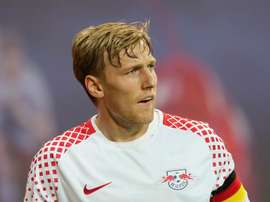 Forsberg in unavailable for Leipzig's decisive Champions League tie with Besiktas on Wednesday. GOAL