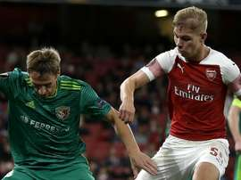Emile Smith Rowe Arsenal 2018-19. Goal