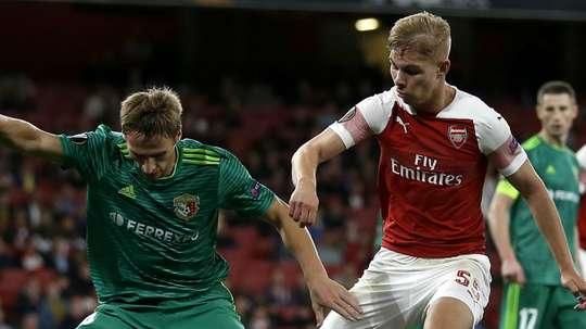 Emile Smith Rowe Arsenal 2018-19. Goal