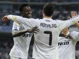 Adebayor played under Mourinho at Madrid in 2011. GOAL