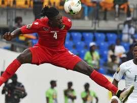 Emmanuel Adebayor's Togo managed a draw against the Ivory Coast. Goal