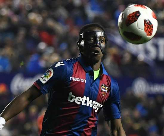 Boateng hit a hat-trick in a 5-4 win over Barcelona last May. GOAL