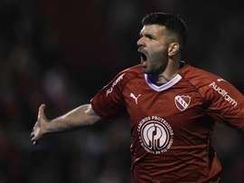 Emmanuel Gigliotti Newells Independiente Superliga Fecha 2