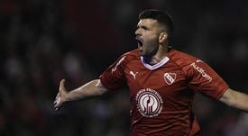 Emmanuel Gigliotti Newells Independiente Superliga Fecha 2