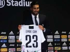Emre Can aimerait jouer avec Ronaldo à la Juve. Goal