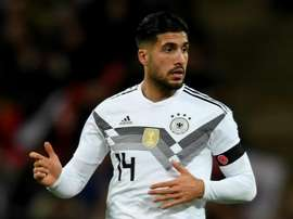 Emre Can pictured against England at Wembley. GOAL