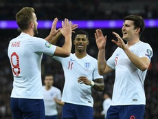 England will face Italy before the Euro. AFP