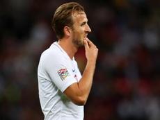 England Harry Kane. Goal