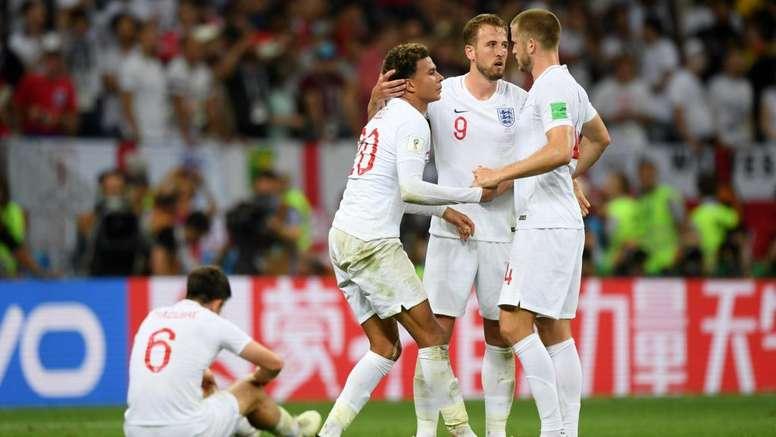 L'Angleterre a trébuché contre la Croatie. Goal