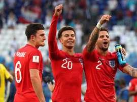 É bom a Croácia ficar ligada na jogada aérea inglesa. Goal