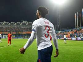 English players were racially abused away to Montenegro. GOAL