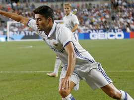 Enzo Zidane scored with his first shot for Real Madrid. Goal