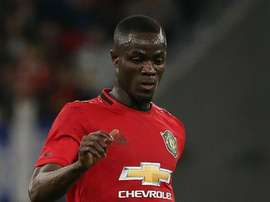 Eric Bailly is back in United training after getting seriously injured last July. GOAL