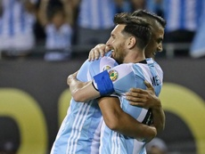 Lamela has played for Argentina with Messi. GOAL